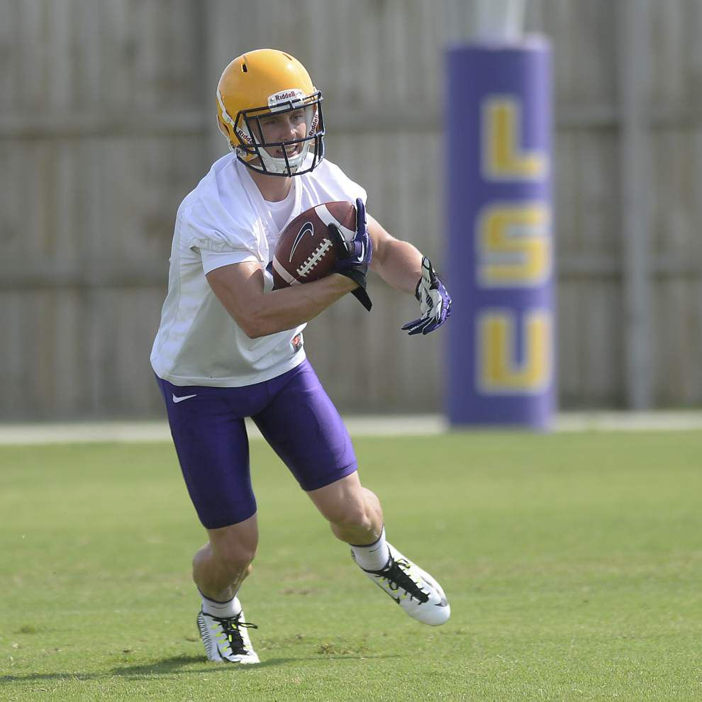 Miles: Players shine in LSU's first full fall scrimmage _lowres