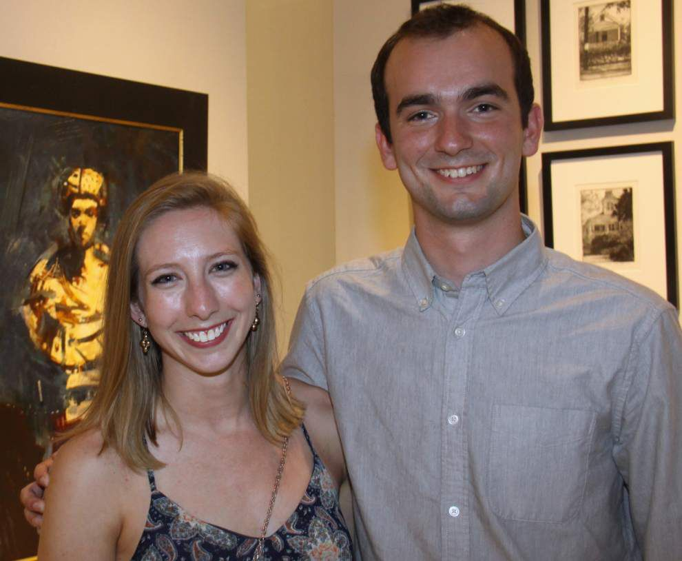 Steven Forster's Party Central: George Schmidt Gallery on June Art Walk _lowres