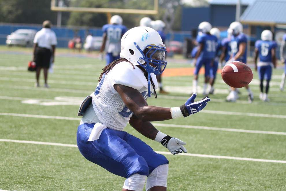 Southern passing game has big scrimmage _lowres