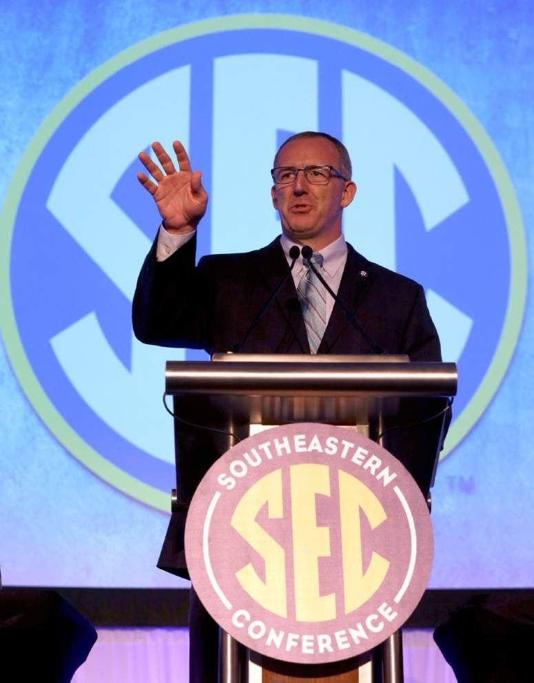 Rabalais: New SEC Commissioner Greg Sankey thoughtful, idealistic in first major SEC address _lowres