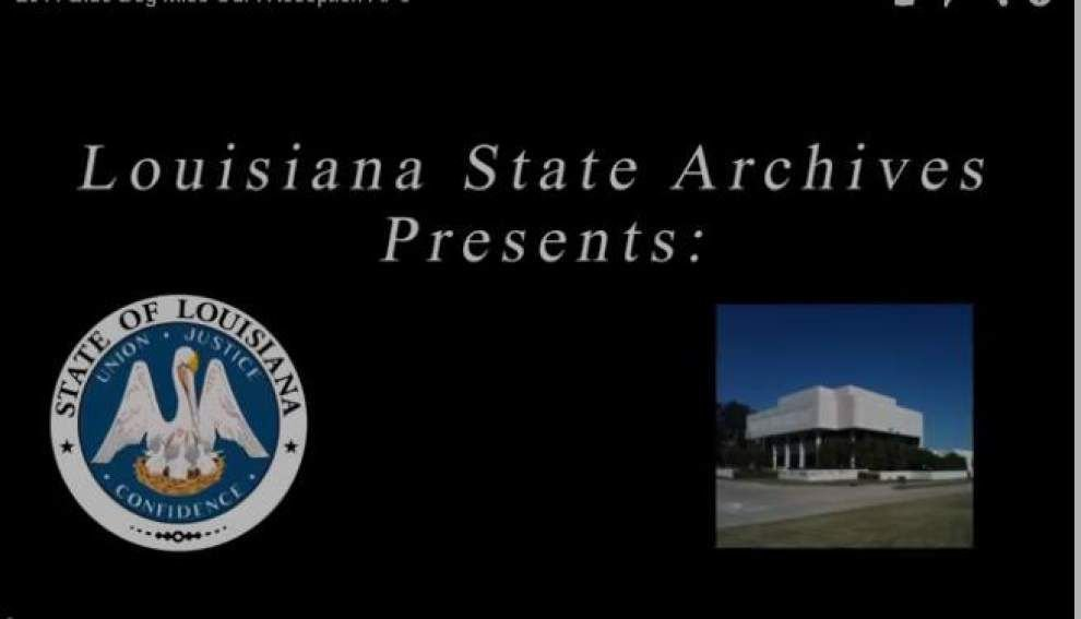 Video: 2014 Blue Dog Miss USA reception, La. State Archives _lowres