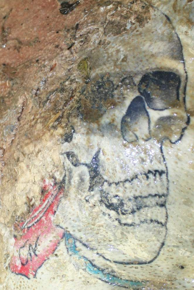 Skull tattoo could hold key to mystery of dead man found floating in Mississippi River _lowres