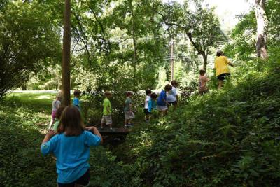 Nature takes center stage at LSU camp _lowres