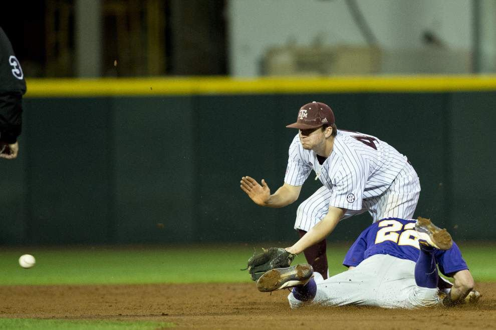 After its starting pitchers shined, LSU baseball team laments wasted opportunities in Texas A&M series loss _lowres