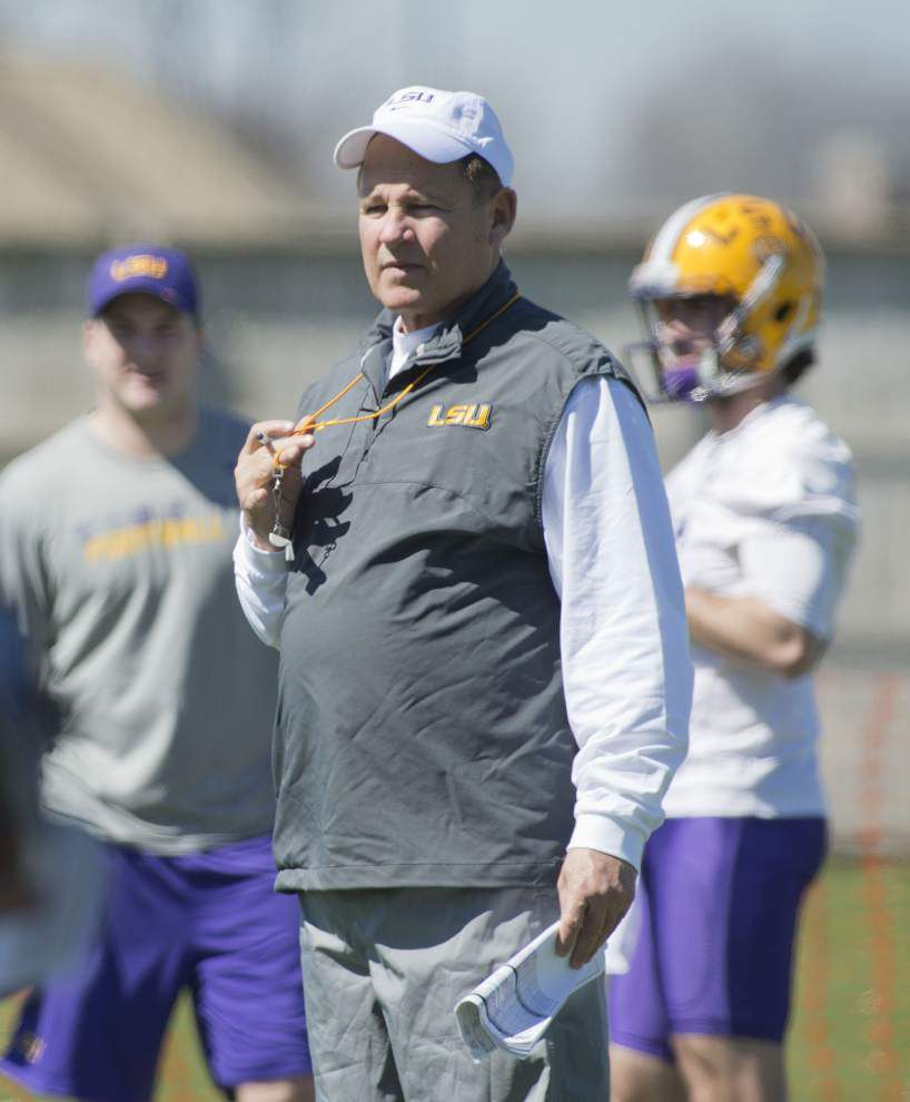 LSU's new-look defense debuts in spring; here's why Les Miles calls the start 'memorable' _lowres