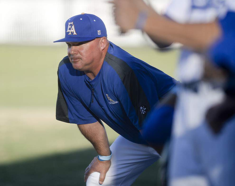 East Ascension baseball coach Mike Toups resigns _lowres