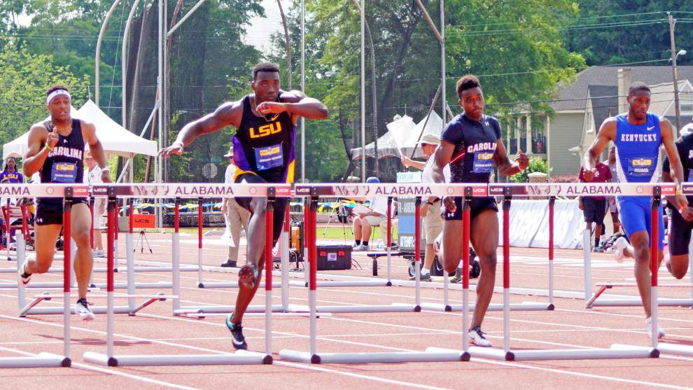 Strong SEC track and field finish boosts LSU's confidence for NCAA preliminaries _lowres
