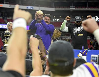 2f5bf5031 LSU set program upward with Fiesta Bowl victory  what does 2019 look like  for the Tigers