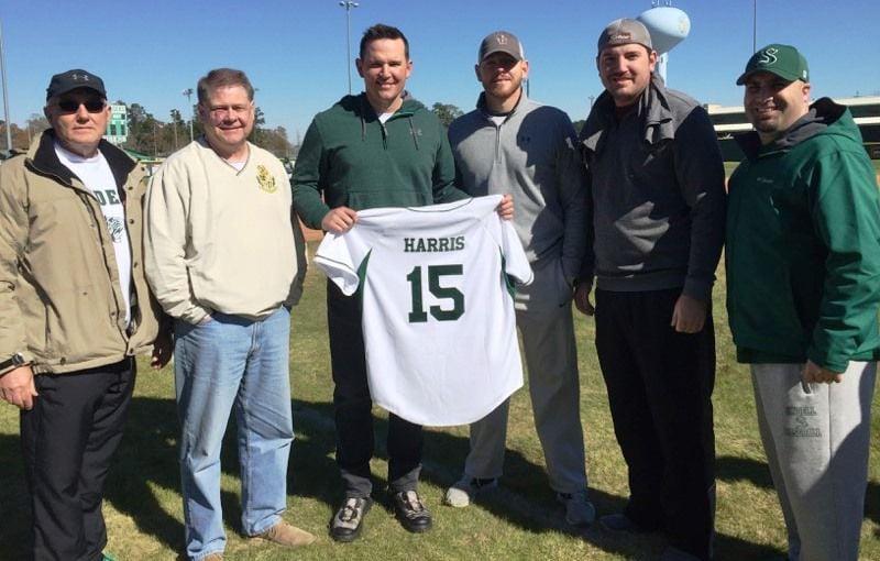Will Harris Slidell High jersey retirement