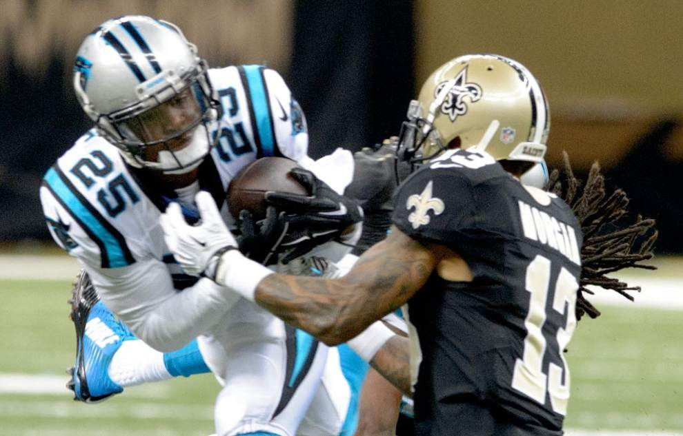 Former Saints WR Morgan clears waivers _lowres