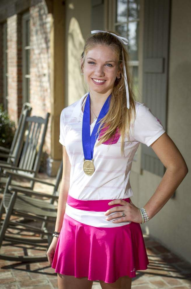 Abbey Daniel, 14, will make some Louisiana history at the Drive, Chip & Putt Championship at Augusta National _lowres