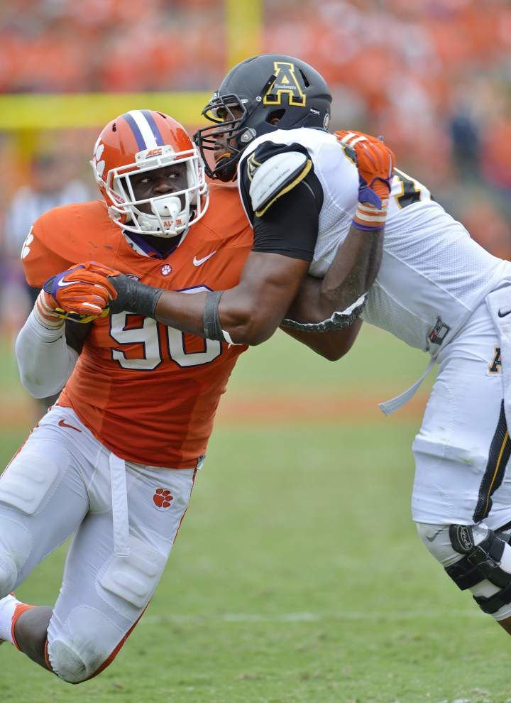 Shaq Lawson and Kevin Dodd are Clemson's latest standout defensive ends to take aim at the NFL _lowres