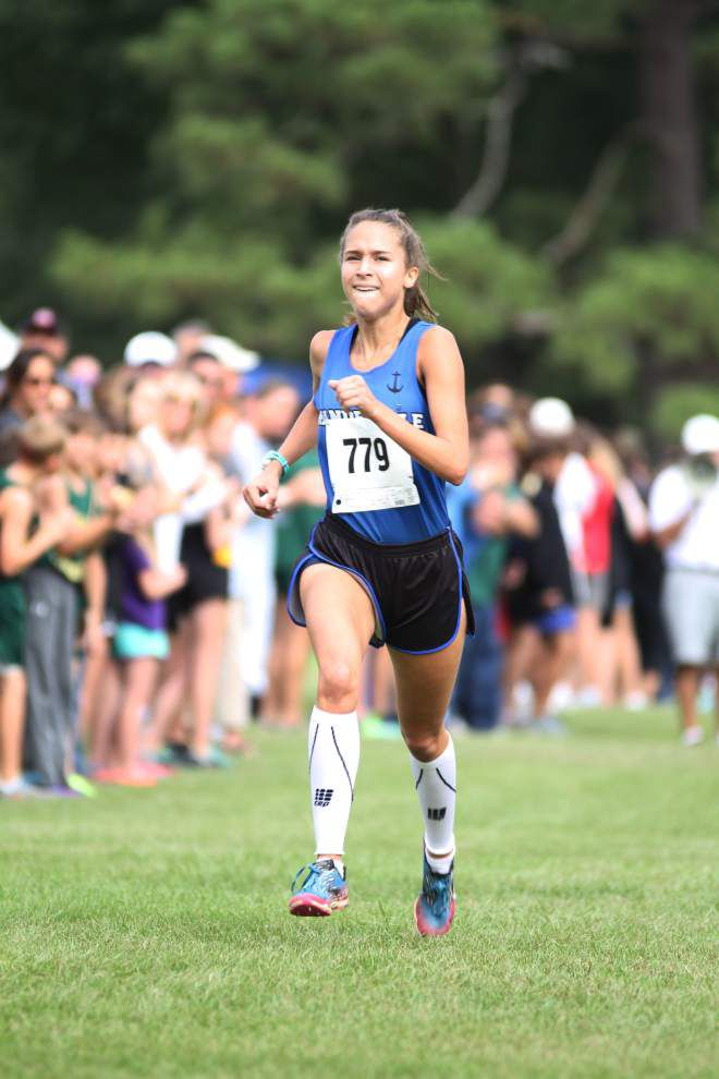 Perfect conditions yield record times at St. Joseph's cross country meet _lowres