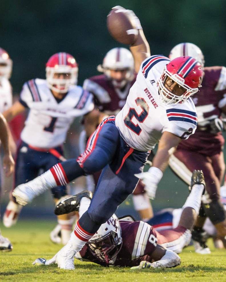 Photos: Acadiana football teams faced off Friday night _lowres