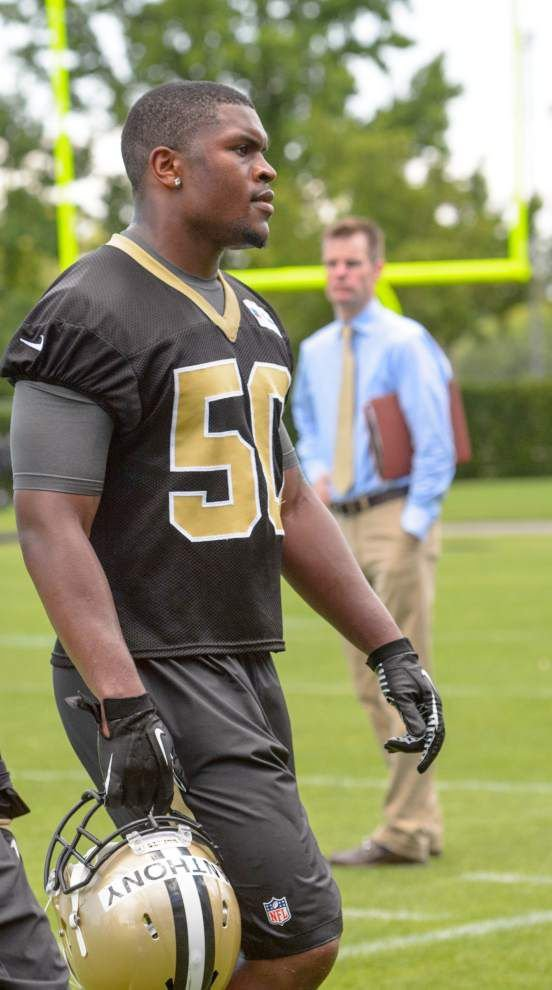 Photos: A diving Jairus Byrd, focused Drew Brees back on field as Saints crank up OTAs _lowres