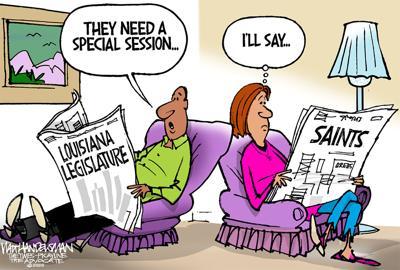 Walt Handelsman: Special Session Needed
