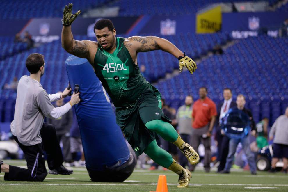 NFL dreams: Deon Simon hopes to ride strong combine on draft day _lowres
