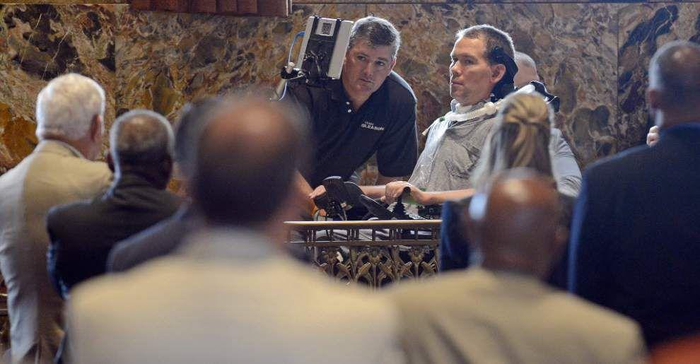 Former Saints player Steve Gleason addresses Louisiana House of Representatives, raises ALS awareness _lowres