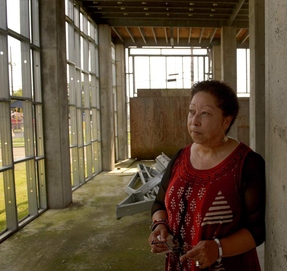 New Orleanians fighting their way back from Katrina found they were tough enough _lowres