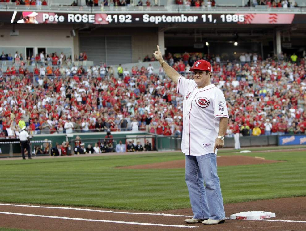 Bud Selig: Pete Rose could play All-Star role in 2015 _lowres