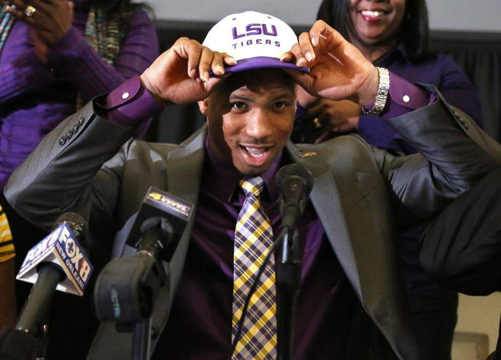 LSU signee Tyron Johnson joins Tigers — despite their struggles in the passing game _lowres