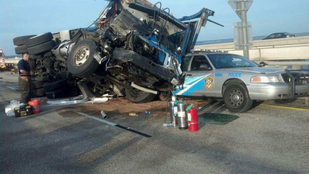 Driver of truck involved in Causeway wreck accused of negligent homicide _lowres