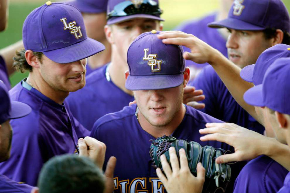 On the mound for LSU's elimination game: Likely Jared Poché _lowres