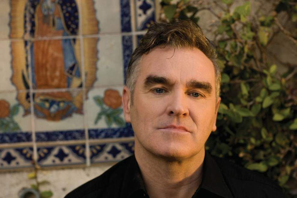 Morrissey will open tour in New Orleans _lowres