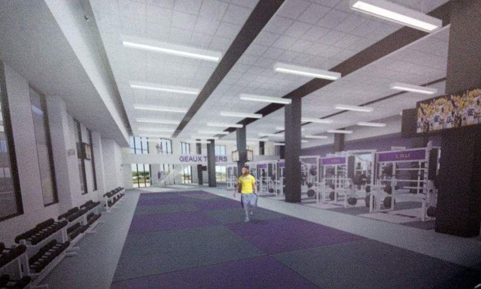 Demolition time: LSU's $2.5M weight room renovation begins this week _lowres