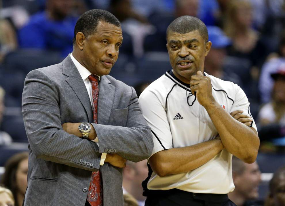 New Pelicans coach Alvin Gentry will ring in the new year with his old team, the Golden State Warriors, and then he'll try to beat them _lowres