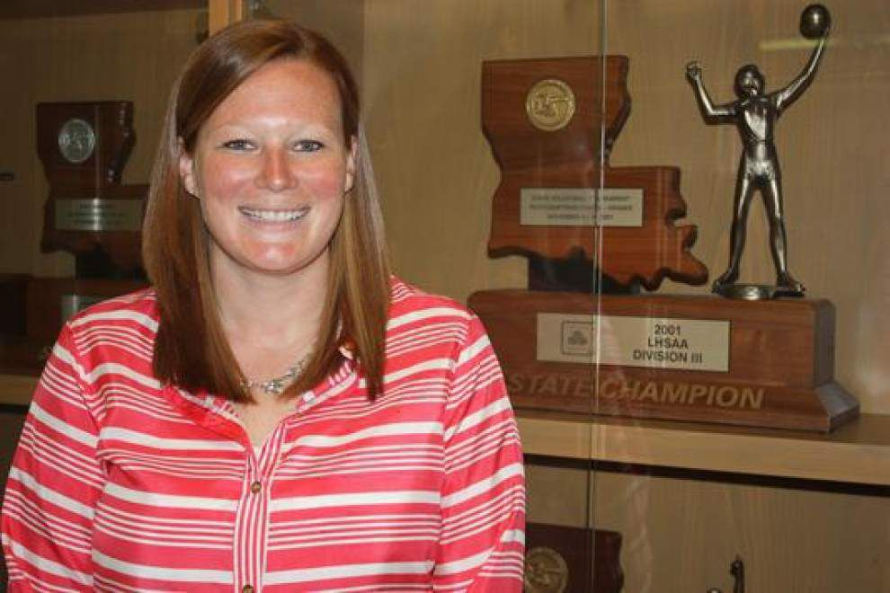 Sacred Heart names Ashley Ruckert volleyball coach _lowres