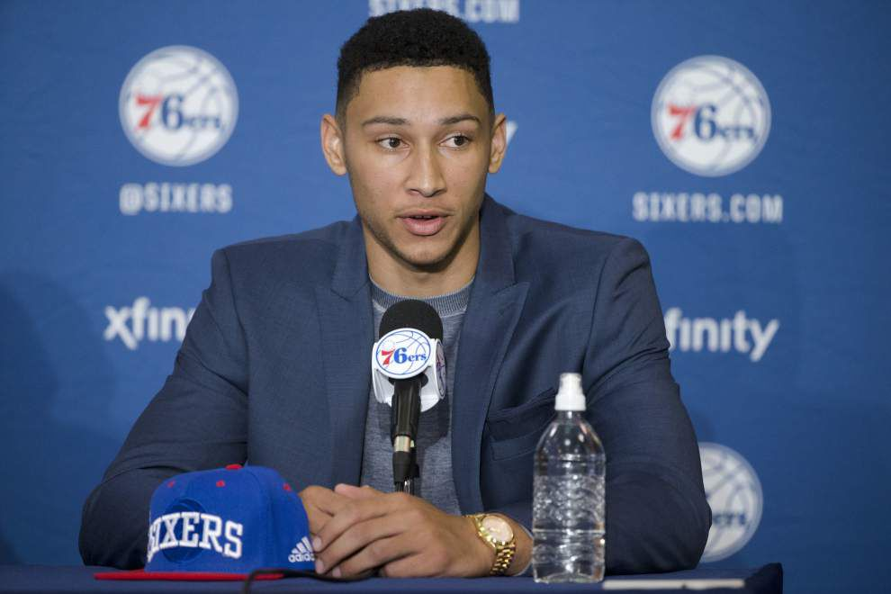 How does Ben Simmons instantly become the 76ers' centerpiece? _lowres