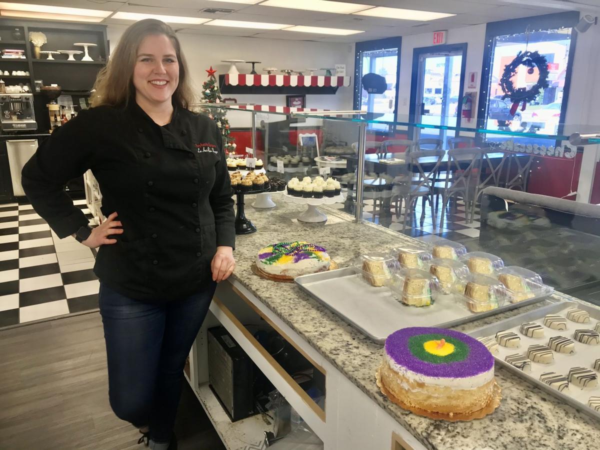 king cake cheese cake 5