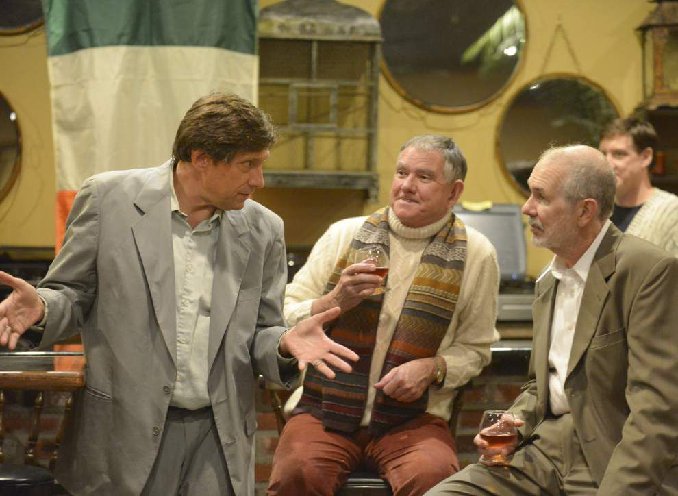 Irish theater drama 'The Weir' a case of the spooky, funny _lowres