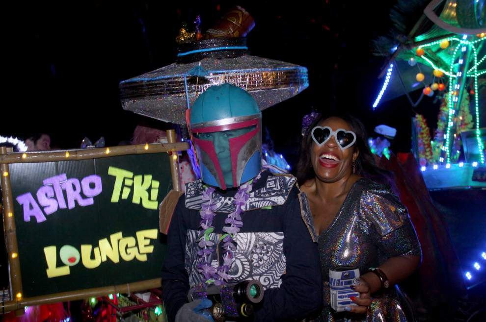 Steven Forster's Party Central: Krewe of Chewbacchus Parade Lineup Party _lowres