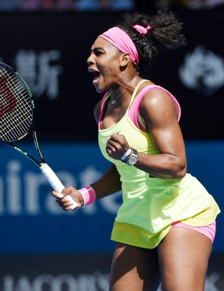 At Australian Open, Serena Williams goes for 19th major title vs. Maria Sharapova _lowres