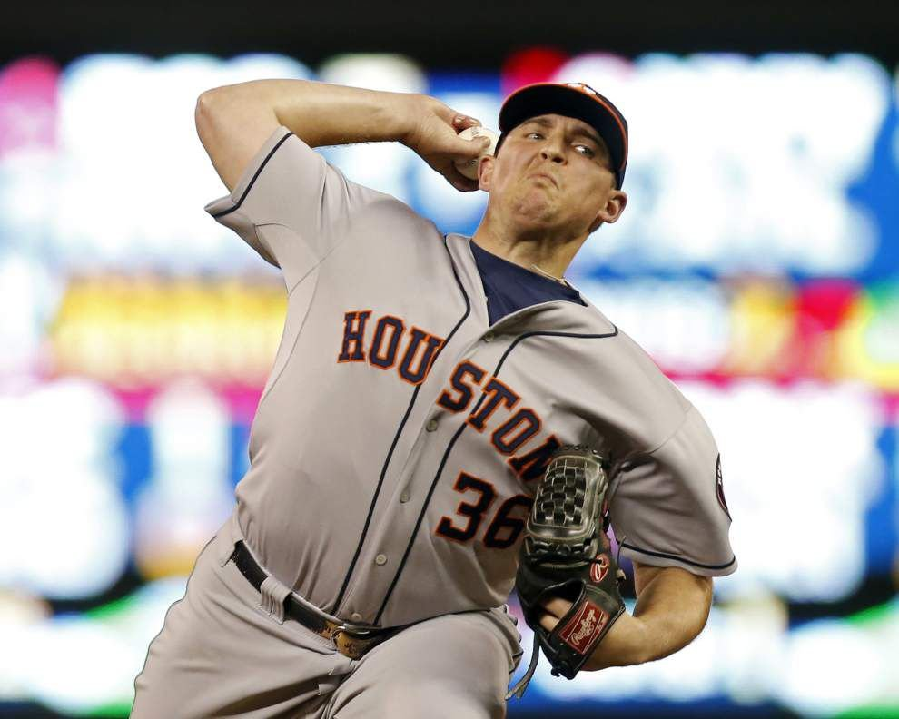 Former LSU pitcher Will Harris revitalizing his career with Astros _lowres