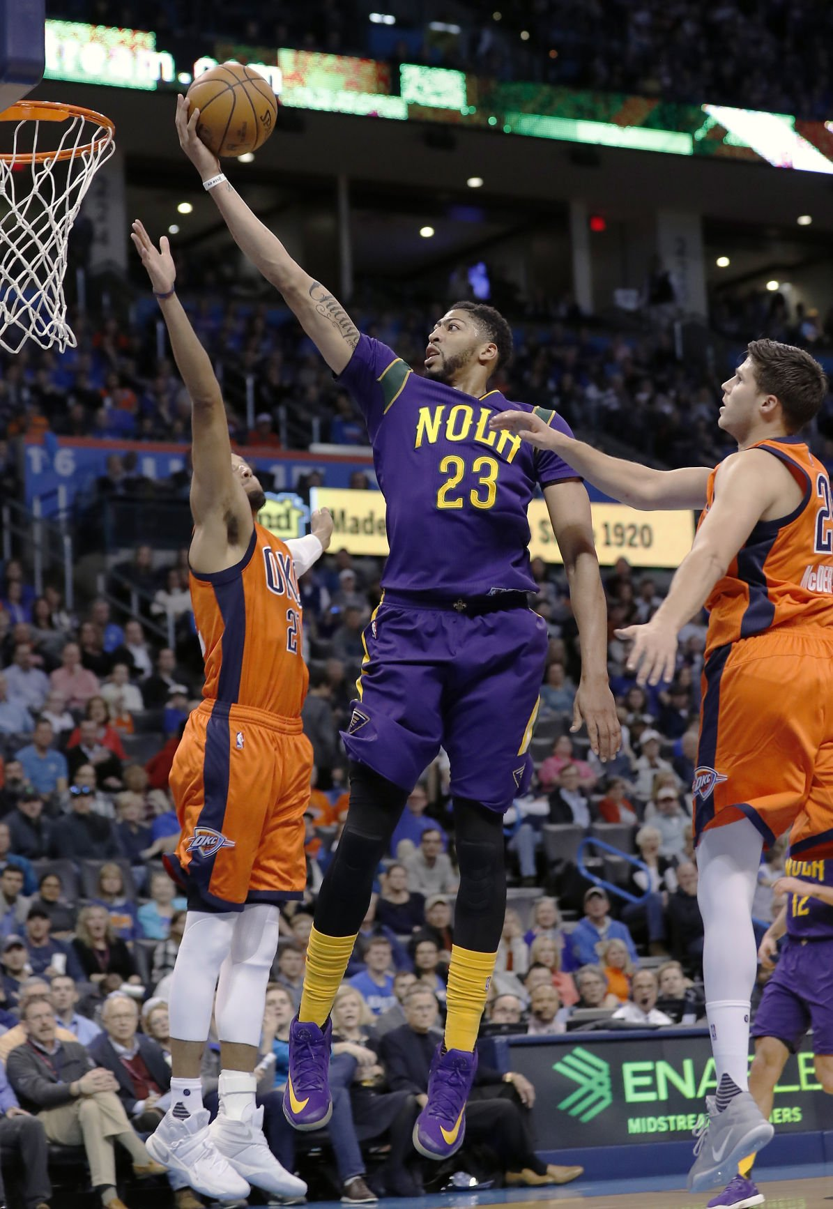 Foul Trouble Technicals Floor Pelicans In Loss To Thunder
