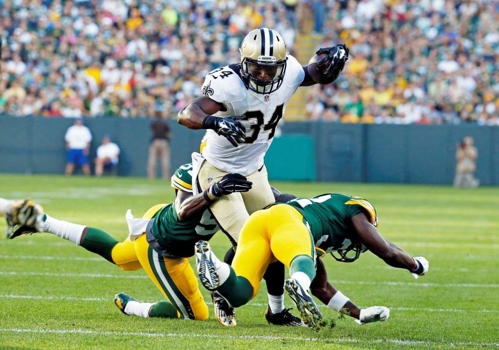 Coach Sean Payton: Saints will see how running back Tim Hightower's role develops _lowres