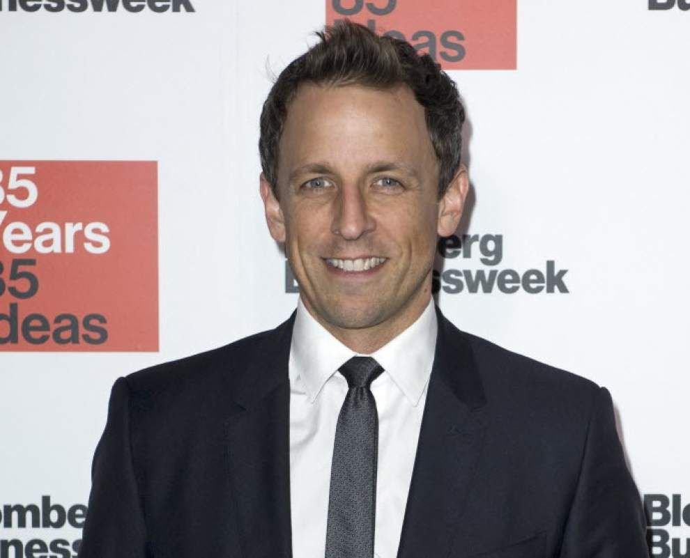Seth Meyers to host NFL awards show _lowres