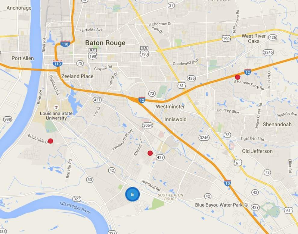 Nine East Baton Rouge properties sold at auction after owners failed to pay taxes _lowres