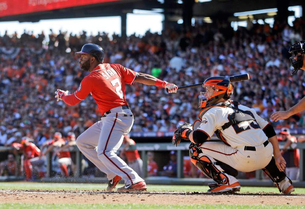 Doug Fister, Nationals keep hopes alive with4-1 win over Giants _lowres