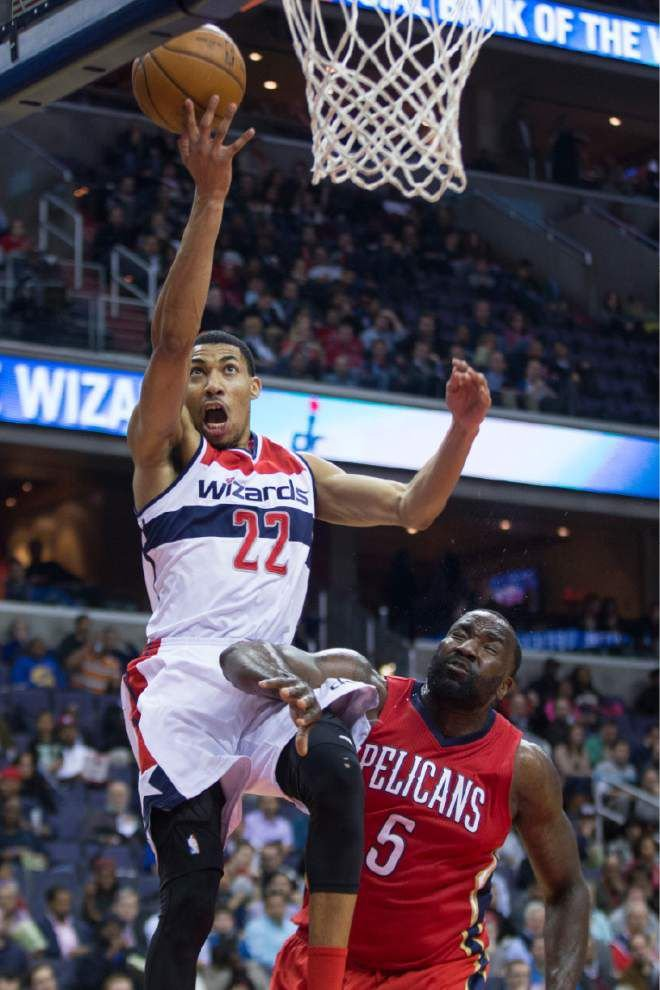 Wall-to-wall: Wizards' John Wall has triple-double to help sink Pelicans 109-89 _lowres