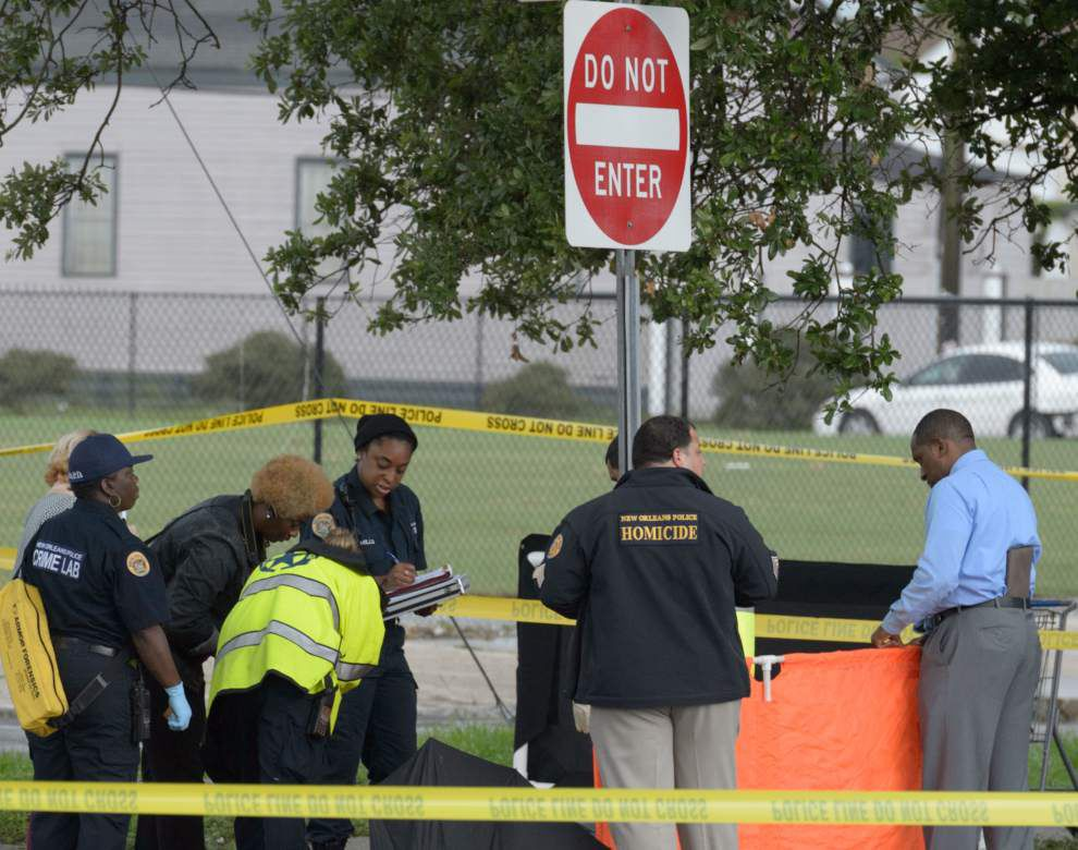 NOPD investigating homicide in Seventh Ward on St. Bernard and Law _lowres