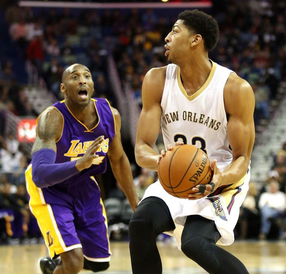 Anthony Davis on the retiring Kobe Bryant: 'You don't really think of the Lakers without Kobe' _lowres