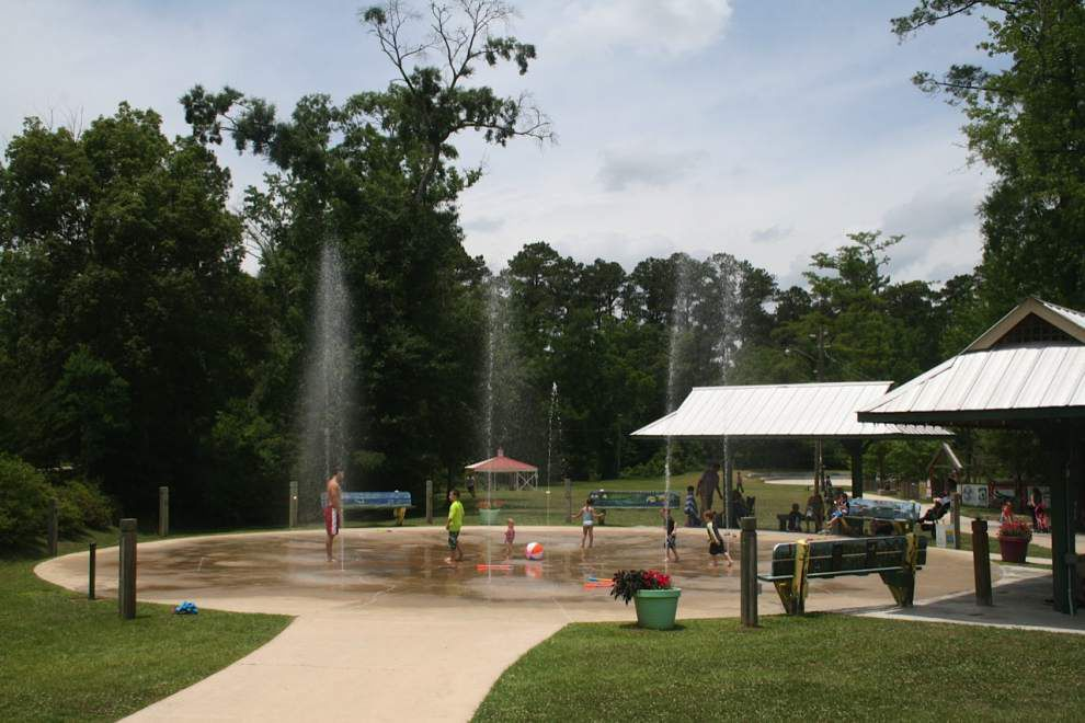As the summer slump continues, spray parks, water rides and more perk families up with cool relief _lowres