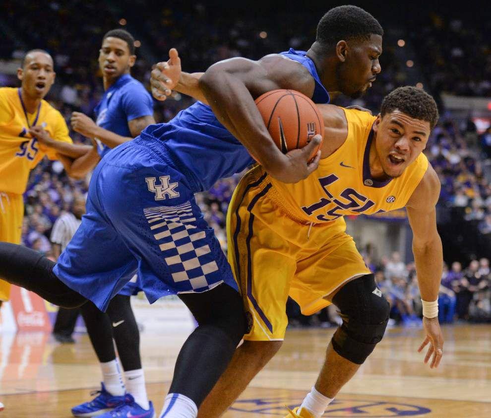 Photos: LSU upsets ninth ranked Kentucky _lowres