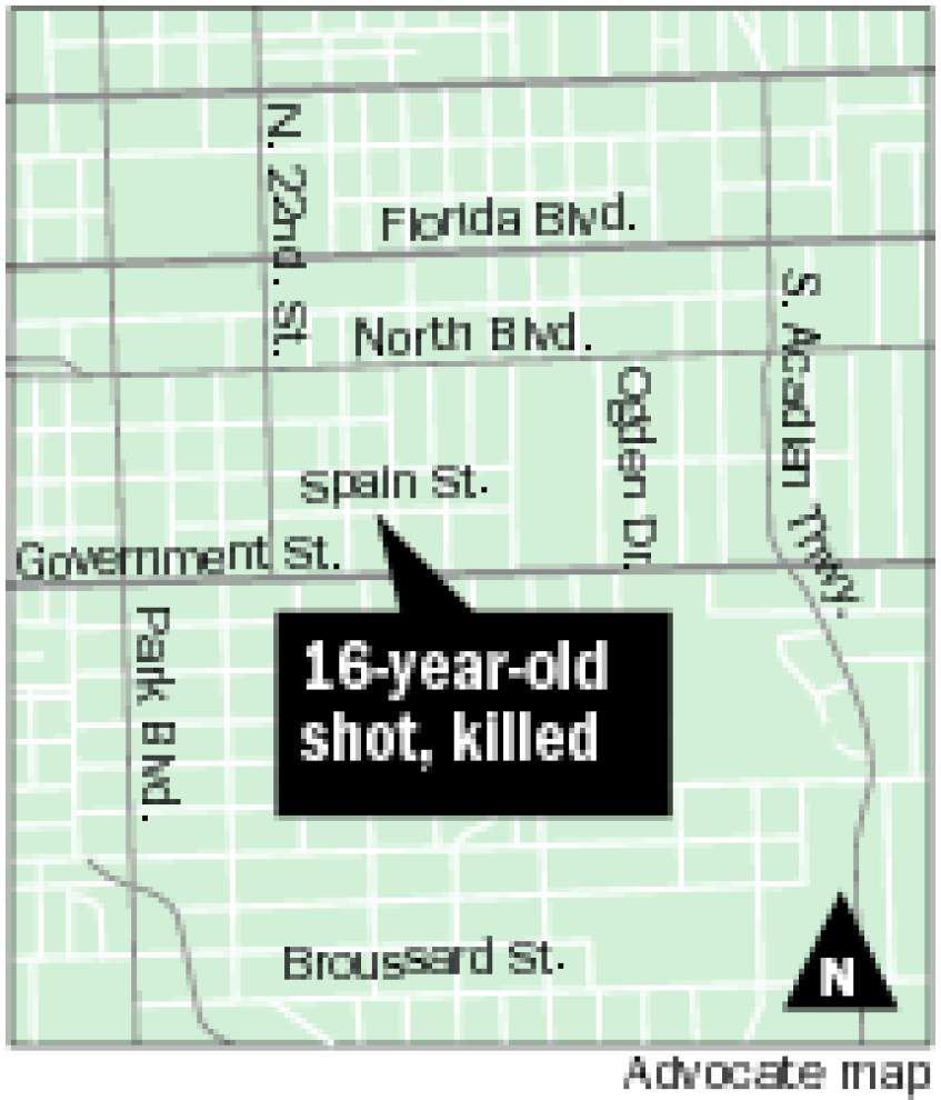 Police say 16-year-old shot, killed Friday afternoon on Spain Street, police arrest 14-year-old on negligent homicide charges _lowres