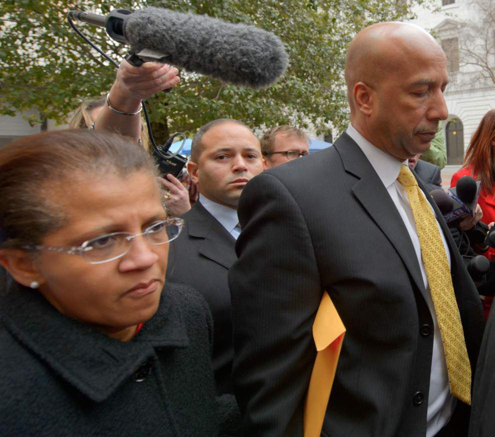 Nagin's sons, wife lodge 11th-hour plea for mercy _lowres