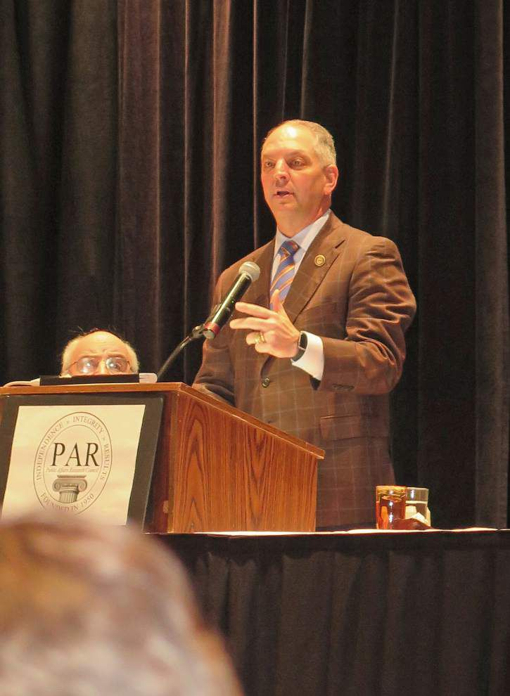Louisiana Gov. John Bel Edwards -- with special sesion on horizon -- eyes 'comprehensive tax reform' _lowres